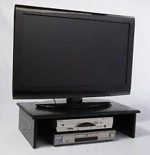 "LARGE BLACK TV RISER 26""widex14""deep x 7"" high SolidOak Wood by SyracuseTvRisers"