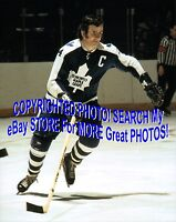 HOFer & 4X Cup WINNER Dave KEON Toronto MAPLE Leafs ACTION Custom LAB 8X10 NEW!!