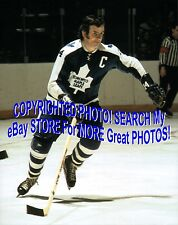 HOFer & 4X Cup WINNER Dave KEON Toronto MAPLE Leafs ACTION Custom LAB 8X10 NEW!!