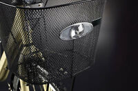 Front LED Dynamo Cycle Light. Basket Mount. Flashing, Batteryless Reelight SL600