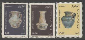 Algeria 2000 Ancient Roman Pottery set Sc# 1198-1200 NH