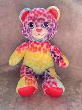 "Build A Bear 17"" Leopard Cheetah Multi-Color Plush Stuffed Animal Toy"
