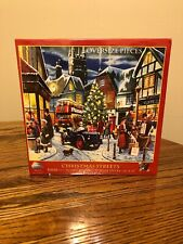 CHRISTMAS STREETS 1000 PIECE JIGSAW PUZZLE by SUNSOUT - BRAND NEW