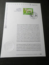 FRANCE 2006 NOTICE FDC timbre 3900, L AGNEAU, 1° JOUR, LAMB