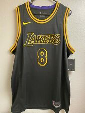 NEW Kobe Bryant Replica Jersey Black Mamba Los Angeles Lakers XL Swingman NBA