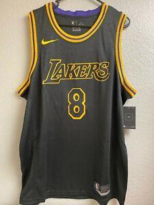 NEW Kobe Bryant Snakeskin Jersey Black Mamba Day Los Angeles Lakers XXL Swingman