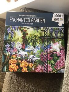 Nancy Wernersbach Series Vicorian Garden Jigsaw Puzzle 1000 Piece Crown New