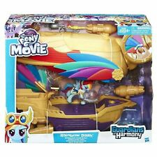 My Little Pony Movie SWASHBUCKLER PIRATE AIRSHIP Rainbow Dash Playset Figure Toy