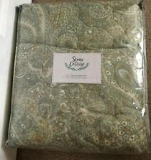 Stone Cottage Emilia Green Reversible Full/Queen 3 Piece Quilt Set NWT