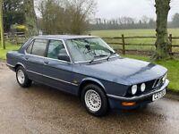 1986 Bmw e28 520i lux immaculate classic Park Lane bmw