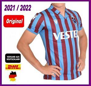NEU ORIGINAL Trabzonspor Trikot Cubuklu Forma Jersey TRABZON 2021 / 2022 Macron