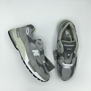 NEW BALANCE 992 M992 M992GR GRAY WHITE MADE IN USA Size 5 - 13 BRAND NEW