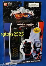Power Rangers SPD Space Patrol Morpher Shadow Delta w Judgement Mode 2004 New