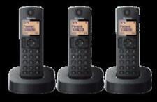 Panasonic telefono kxtgc313spb negro trio dect