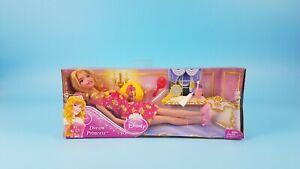 New Mattel 2012 Disney Dream Princess Sleeping Beauty Aurora Doll & Accessories
