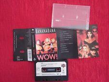 ANCIENNE CASSETTE AUDIO BANANARAMA WOW ! 1987