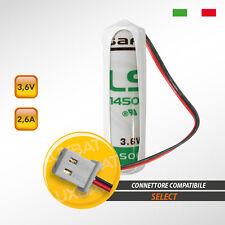 SELECT codice: SBT01 LS14500 3,6V 2,6Ah, Batteria al Litio SAFT