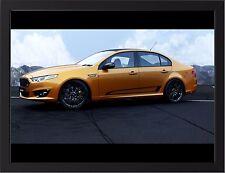 "FORD FALCON FGX XR8 SPRINT A3 FRAMED PHOTOGRAPHIC PRINT 15.7"" x 11.8"""