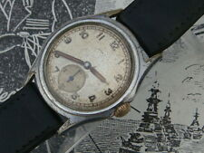 WW2 era- 50s Swiss Buser watch military atp style dial quality Movement & hands