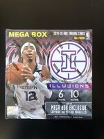 2019-20 Panini Illusions Basketball NBA Factory Sealed Mega Box