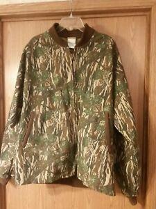 Vintage Ideal Camouflage Jacket XXL Silent leaf chamois. Hunting