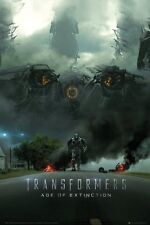 "Transformers 4: Age Of Extinction - Movie Poster (Imax Teaser) (Size: 24"" x 36"")"