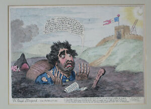 James Gillray - James Fox in the Slough of Despond