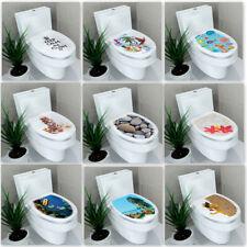 Sticker Autocollant Adhesif Couvercle Décor Toilette Siège WC Salle Bain Mural