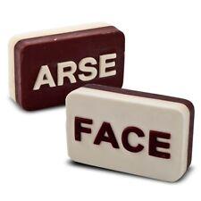 Arse / Face Soap – scented novelty gag joke funny fun gift bathroom bath