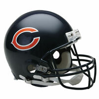 CHICAGO BEARS RIDDELL NFL FULL SIZE AUTHENTIC PROLINE FOOTBALL HELMET