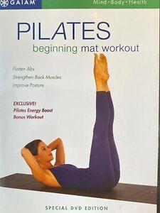 Pilates Beginning Mat Workout (DVD, 2002)