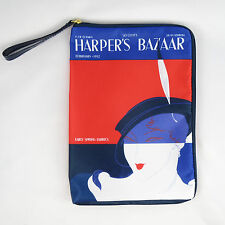 New! Estee Lauder Harper's Bazaar Cosmetic Makeup Bag Zipper Pouch