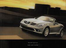 2007 Mercedes-Benz SLK-Class Sales Brochure  SLK280  SLK350  SLK55 AMG