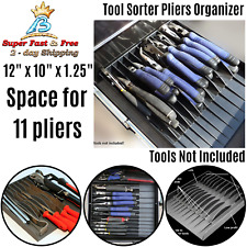Toolbox Garage Tool Pliers Organizer Storage Sorter Chest Drawer Wrench Tray Box