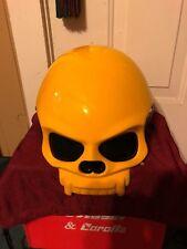 Masei 419 Yellow Skull Kawasaki Chopper Bike Harley Half Face Motorcycle HELMET