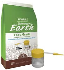 Harris 64 oz.Diatomaceous Earth Food Grade 100% with Powder Duster Applicator