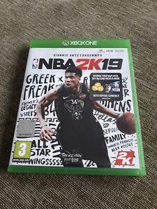 NBA2K19  - X BOX ONE