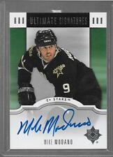 2007-08 Ultimate Collection - MIKE MODANO - Ultimate Signatures Autograph STARS
