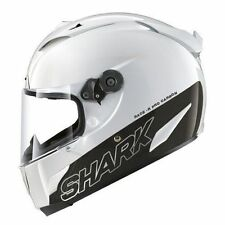 Shark Race-R Pro Carbon Blank White Helmet - XL