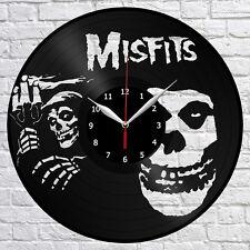 Misfits Vinyl Record Wall Clock Decor Fan Art Home 12' 30 cm