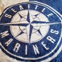 Vintage Biederlack of America Seattle Mariners Throw Camp Blanket USA 80 x 56
