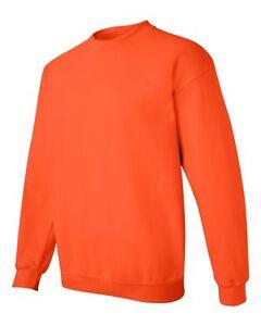 Gildan 18000 Heavy Blend™ Adult Crewneck Sweatshirt Pullover Jumper Fleece S-5XL