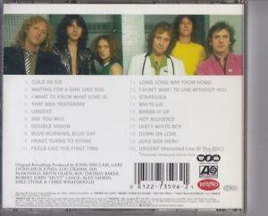 FOREIGNER The Definitive 25th Anniversary Edition CD REMASTER RHINO ATLANTIC AOR