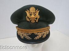 New listing Vietnam War 1950s-60s Named Us Army Officer Visor Hat Bullion Field Grade