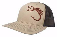 3D FISHING HAT CAP SNAPBACK CURVED BILL(FREE NAME) RICHARDSON 112