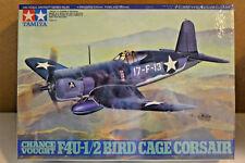 TAMIYA CHANCE VOUGHT F4U-1/2 BIRD CAGE CORSAIR  REFERENCE 61046 1/48