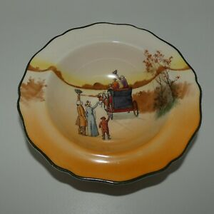 Royal Doulton Coaching Days Coaching Scenes oatmeal bowl c.1934
