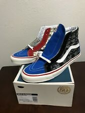 Vans Sk8 Hi 38 50th Anniversary STV/Multi Print Vans Pirate Skull BRAND NEW! 12