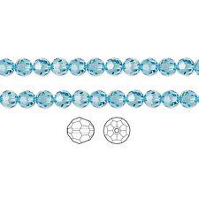 12 Swarovski Crystal Beads Faceted Round 5000 4mm, 12 Swarovski Beads 5000 4mm
