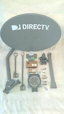 COMPLETE NEW DIRECTV SLIMLINE HD/ 4K DISH KA/KU SL3RB LNB/DSWM /4 WAY SPLIT/NEW!